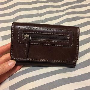 Handbags - Brown Leather Wallet